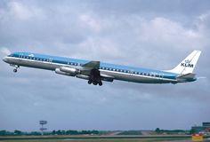 KLM Royal Dutch Airlines McDonnell-Douglas DC-8-63
