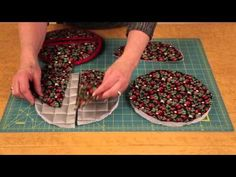 Learn to make a pot holder in 4 easy steps - YouTube