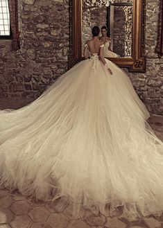 Magbridal Marvelous Tulle & Satin Bateau Neckline Ball Gown Wedding Dresses With. - Magbridal Marvelous Tulle & Satin Bateau Neckline Ball Gown Wedding Dresses With… – - Lace Wedding Dress, Western Wedding Dresses, Sexy Wedding Dresses, Princess Wedding Dresses, Cheap Wedding Dress, Bridal Dresses, Wedding Gowns, Tulle Wedding, Beaded Dresses