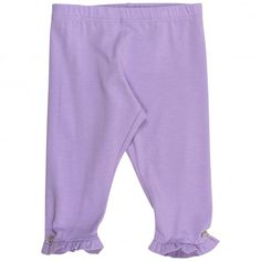 0ae1ce906 Young Versace baby girls lilac leggings. #versace #youngversace #leggings