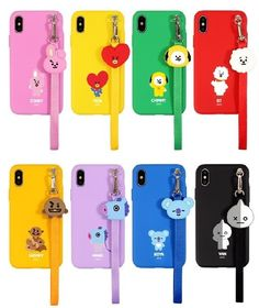 Official strap phone case cover shockproof for iphone galaxy kpop bts Kpop Phone Cases, Cute Phone Cases, Phone Covers, Iphone Cases, Cellphone Case, Smartphone, Mochila Kpop, Bts Doll, Mode Kpop