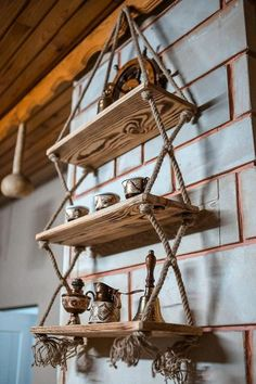 Decorative Handmade 3-Eyed Wooden Shelf Bookcase HEIGHT: 90CM WIDTH: 50CM DEPTH: 14 CM 2 WALL HOOKS ARE SENT WITH THE PRODUCT 100% PINE HAND MADE Installation belongs to the customer. The products that have been assembled are not returned. After receiving the product, if there are damaged parts, the