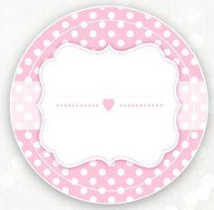 Etiquetas Birthday Decorations, Baby Shower Decorations, Tarjetas Baby Shower Niña, Diy And Crafts, Paper Crafts, Flower Circle, Baby Shawer, Bottle Cap Images, Paper Fans