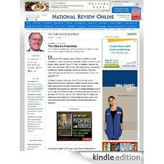 National Review Online: Articles [Kindle Edition], (conservative, politics, conservatism, constitution, kindle, congress, opinion, culture, education, entertainment)