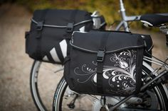 """Fastrider Sportive Double (E-Bike) Bicycle Bags """"Romi"""" and """"Sepp"""""""