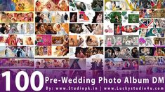 100 Pre-Wedding Photo Album DM Designs - By Studiopk.in   Shorts