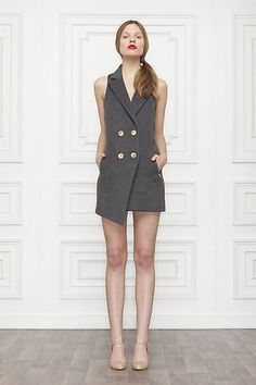 Ace Vest Dress: Sexy and classy. What's not to love?