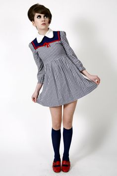 cute vintage babydoll dress
