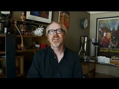 """Permission to Make""  Adam Savage of Mythbusters discusses how important making things is to overall learning and critical thinking."