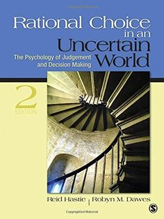 Solutions manual to accompany an introduction to management science rational choice in an uncertain world the psychology of judgment and decision making by reid fandeluxe Image collections