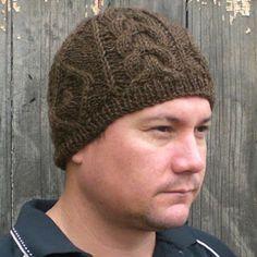 Mens Knit Beanie Pattern