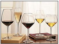 Riedel, The Wine Glass Company. Best wine glasses ever!!