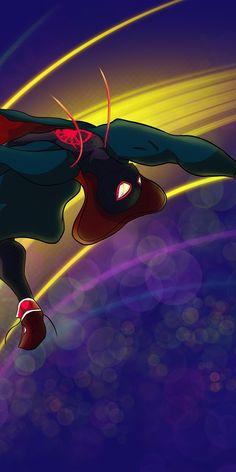 Marvel Phone Wallpaper, Marvel Universe, Spiderman, Northern Lights, Avengers, The Neighbourhood, Wallpapers, Colour, Superhero