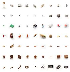 Pretty brilliant art from a mom. 63 Objects Taken From My Son's Mouth | A Cup of Jo Kid Styles, Traditional Art, Food Art, Installation Art, Art Images, Cool Artwork, Amazing Artwork, Book Of Hours, Things Organized Neatly