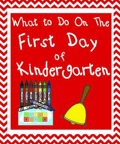 What to Do on The First Day of Kindergarten! #kindergarten #teachers