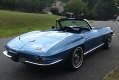1965 Chevrolet Corvette Roadster Survivor For Sale Rear