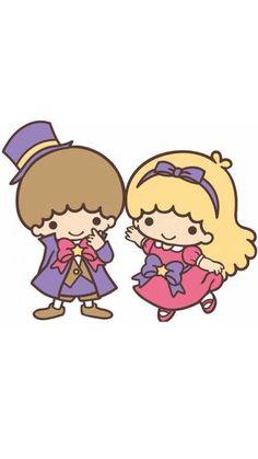 Sanrio Little Twin Stars Sanrio Characters, Cute Characters, Little Twin Stars, Little Star, Badtz Maru, Keroppi, Hello Kitty, Pochacco, Cute Twins
