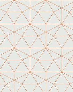 Triangle Print Gold Triangle Geometric Print Geometric
