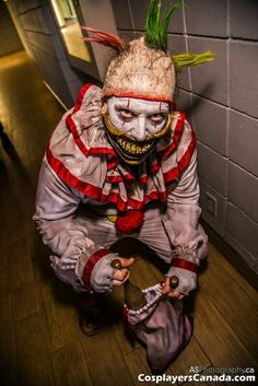 Twisty the clown Rusty Sinner Cosplay Scary Halloween, Horror Stories, Badass, Cosplay, Costumes, Clowns, Monsters, Pictures, Art