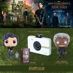 FOLLOW us and REPIN for your chance to win this awesome Miss Peregrine's Home for Peculiar Children prize pack!