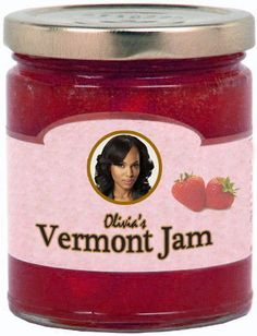 Olivia's Strawberry Vermont Jam | The 14 Scandal Gift Items That You Wish Existed