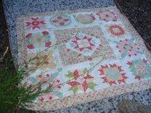 Sampler Quilts to Make   BOM Sampler quilt from Fat Quarter Shop