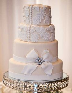 Old Hollywood Cakes | vintage glamour wedding cake Archives | Weddings Romantique