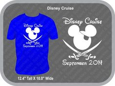 Disney Cruise Mickey Pirate T-Shirt by SpiritAndSparkles on Etsy