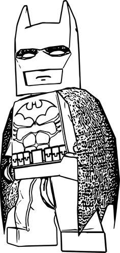 Cool Batman LBTVG Lego Coloring Page More Information