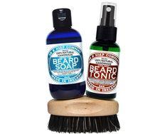 All Natural Beard Kit. Handmade in Ireland. Beard Soap, Beard Wash, Lime Essential Oil, Vegetable Glycerin, Jojoba Oil, Your Hair, Ireland, Kit, Natural