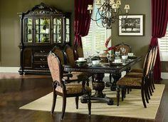 Homelegance 1808-112 Russian Hill Collection Color Cherry Finish