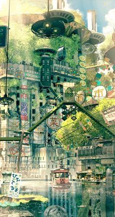 Home Discover Beautiful Anime Images - Blend S - # Photo - Beautiful Anime S Blend S - Fantasy Places Fantasy World Fantasy Art Fantasy Landscape Landscape Art Environment Design Amazing Art Cool Art Illustration Art Fantasy City, Fantasy Places, Fantasy World, Fantasy Landscape, Landscape Art, Japon Illustration, Anime Scenery, Environment Design, Amazing Art