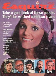 "Valerie Harper as Rhoda has been my life's model.  When I was a little girl, I would sneak my mother's scarves in my book bag and tie them around my head when I got to school.  Didn't go over very well, as it was a Catholic school with a dress code that certainly did not include ""the Rhoda look."""