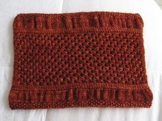 pretty pattern: Dungarees cowl - apparently it's a free pattern
