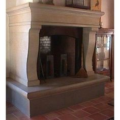 Skinner Fireplace from Sonoma Cast Stone