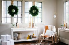 Home Decor Idea Using Greenery In This Christmas