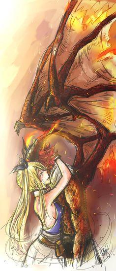 Dragon Cry||Nalu moment