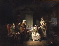 J.C. Bonnefond, Le Mauvais propriétaire, 1824