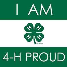 4-H on Pinterest | Youth, Clovers and Logos