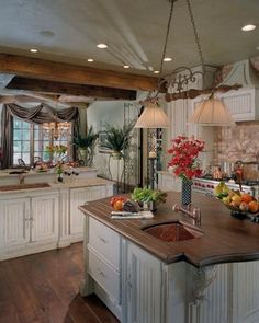 English Country Kitchen Design, Pictures, Remodel, Decor and Ideas - page 2
