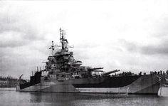 US Navy Battleship USS WEST VIRGINIA BB-48 Navy Ship (1923-1959)