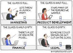 Marketoonist is the thought bubble of Tom Fishburne. Marketing cartoons, content marketing with a sense of humor, keynote speaking. Content Marketing, Digital Marketing, Thought Bubbles, Video Advertising, New Market, Make It Through, Computer Science, Budgeting, Innovation