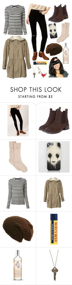 """No Title #193"" by emily102901 ❤ liked on Polyvore featuring Rolla's, Barbour, UGG, Proenza Schouler, Prada, The Body Shop, The Giving Keys and Roger Vivier"