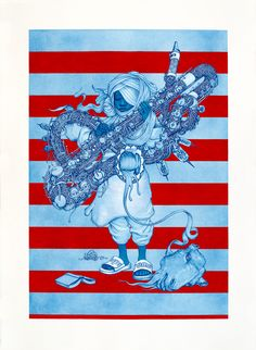 Hi-Fructose Vol. 15 cover artist James Jean will debut new works in a solo show at Tokyo's Hidari Zingaro gallery on November 7th. His latest body of work consists of mixed media drawings on …
