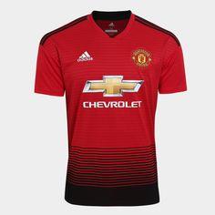 986e47ac2 Camisa Manchester United Home 2018 s n° Torcedor Adidas Masculina -  Vermelho e Preto - Compre Agora