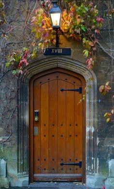 Door ~ Oxford, England