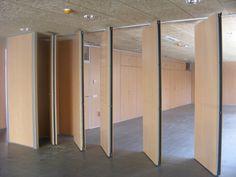 Folding Walls, Folding Doors, Movable Walls, Open Space Office, Cedar Homes, Sliding Door Hardware, Boundary Walls, Modular Design, Room Doors