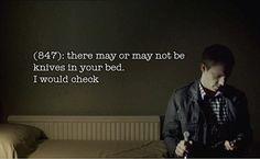 fair enough -- Texts from Baker Street