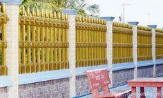 Mẫu hàng rào đẹp ứng dụng công nghệ quay ly tâm hiện đại