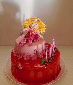 Princess Lillifee Birthday Cake Fairy Cakes, Birthday Cake, Desserts, Doll, Girls, Princess, Bakken, Tailgate Desserts, Toddler Girls